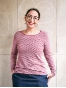 Shirt Mabella von Sorgenfri Sylt in wine