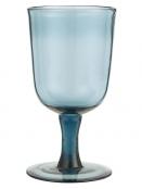 Rotweinglas von Ib Laursen in Blau