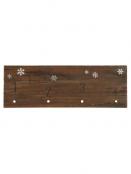 Holzschild Adventskalender (1-4) von Ib Laursen