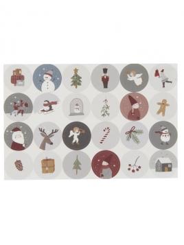 Weihnachtsaufkleber von Ib Laursen