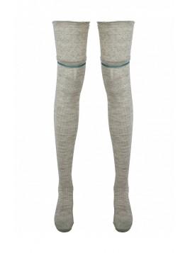 Overknee Socks 3998-95 von Nü by Staff-Woman in Seasand