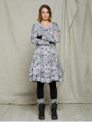Kleid Kallas von Olars Ulla in GreyFlower