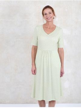 Kleid Alise von Sorgenfri Sylt in Lime