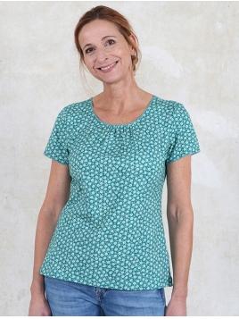 Shirt Camille von Sorgenfri Sylt in Mermaid