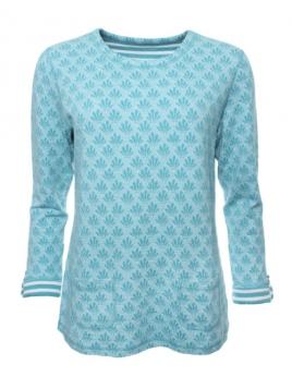 Shirt Kari von Sorgenfri Sylt in Mermaid