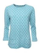 Shirt Kari von Sorgenfri Sylt in Mermaid
