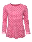Shirt Kari von Sorgenfri Sylt in Pink
