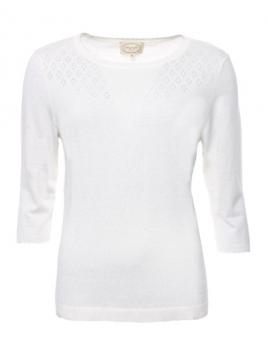 Pullover Dafne von Sorgenfri Sylt in Ivory