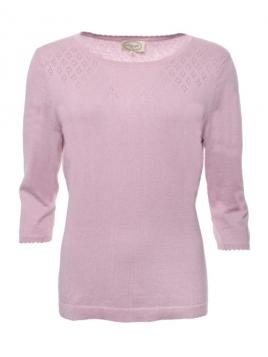 Pullover Dafne von Sorgenfri Sylt in Rose