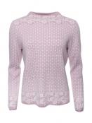 Pullover Dorit von Sorgenfri Sylt in Rose