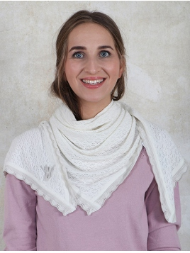 Tuch Lisa von Sorgenfri Sylt in Ivory