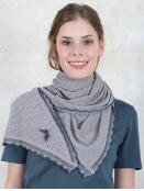 Tuch Lisa von Sorgenfri Sylt in Steel