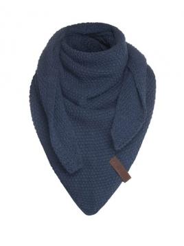 Dreiecksschal Coco (Junior) von Knit Factory in Jeans