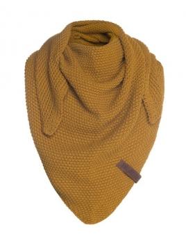 Dreiecksschal Coco (Junior) von Knit Factory in Ocker