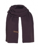 Schal Jazz von Knit Factory in Aubergine