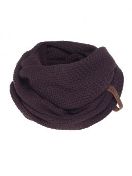 Loopschal Coco von Knit Factory in Aubergine