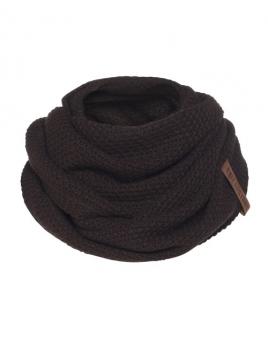 Loopschal Coco von Knit Factory in DunkelBraun