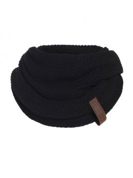 Loopschal Coco von Knit Factory in Schwarz