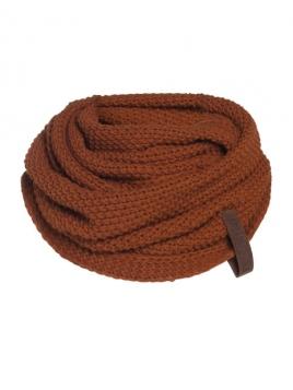 Loopschal Coco von Knit Factory in Terra