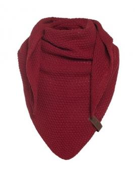 Dreiecksschal Coco (Junior) von Knit Factory in Bordeaux