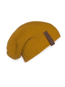 Mütze Coco von Knit Factory in Ocker