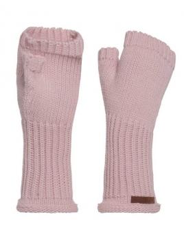 Stulpen Cleo von Knit Factory in Rosa