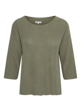 Pullover Hala von Part-Two in Vetiver