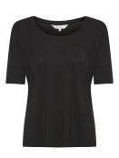 Kurzarm T-Shirt Kasan von Part-Two in Black