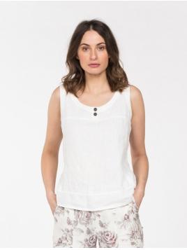 Top Lasso von Olars Ulla in White