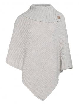 Poncho Nicky von Knit Factory in Beige
