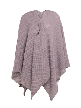 Poncho Cape Jazz von Knit Factory in Mauve
