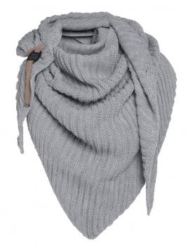 Dreiecksschal Demy von Knit Factory in Grau