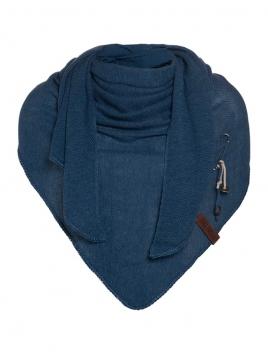 Dreieckstuch Lola von Knit Factory in Jeans