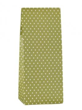 Papiertüte (mit Punkten) von Ib Laursen in Grün