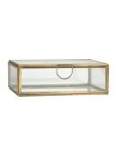 Glasbox mit Deckel von Ib Laursen