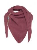 Dreiecksschal Demy von Knit Factory in StoneRed