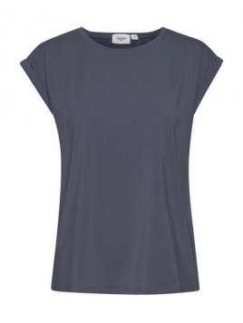 Kurzarm T-Shirt Adelia von Saint Tropez in OmbreBlue