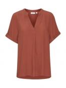 Shirt Agnes von Saint Tropez in Marsala