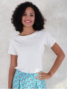 Shirt Zoe von Lykka in SolidIvory