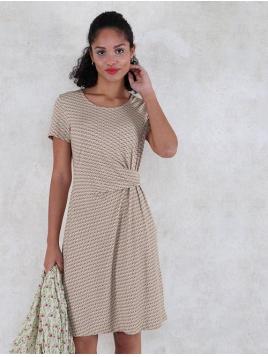 Kleid Anouk von Lykka in BerryLime