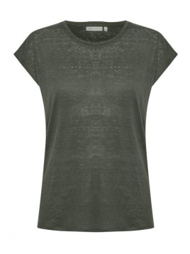 Kurzarm T-Shirt Faylinn von InWear in BeetleGreen
