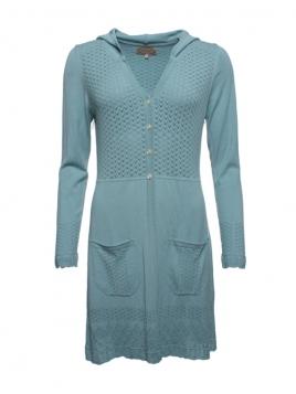 Strickjacke Brenda von Sorgenfri Sylt in Turquoise