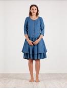 Kleid Klasse von Olars Ulla in DenimBlue