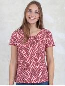 Shirt Camille von Sorgenfri Sylt in Rubin