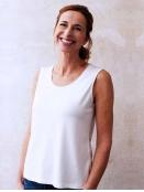 Shirt Alva von Sorgenfri Sylt in Ivory