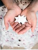 Stern von Ib Laursen in Weiß