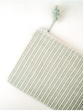 Kosmetiktasche (klein) von Ib Laursen in hellgrün