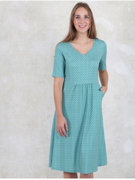 Kleid Alise von Sorgenfri Sylt in Mermaid