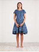 Kleid Kran von Olars Ulla in DenimFlower