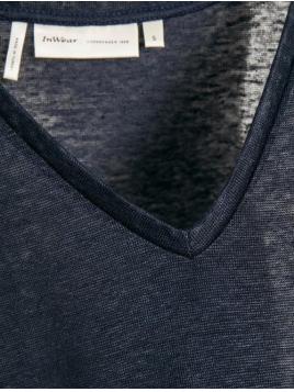 T-Shirt Faylinn von InWear in MarineBlue